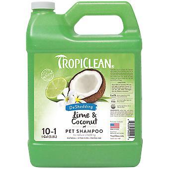 TropiClean Shampoing Lime et Coco 3,78 L (Chiens , Hygiène et toilette , Shampooing)