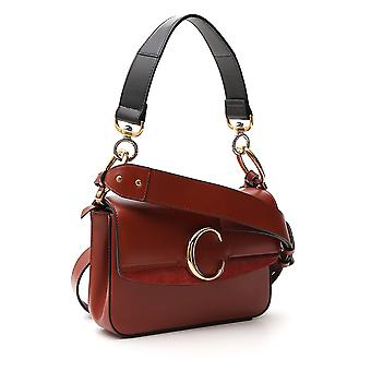 Chloé Chc19ss191a3727s Women's Brown Leather Shoulder Bag