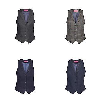 Brook Taverner Womens/Ladies Nashville Tweed Waistcoat