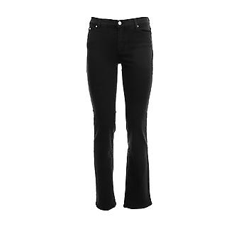 Karl Lagerfeld Klwp0002000001990 Femmes-apos;s Black Cotton Jeans