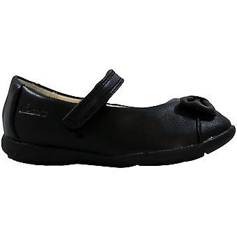Clarks Danceharper Fast Black Leather 26103701 Toddler