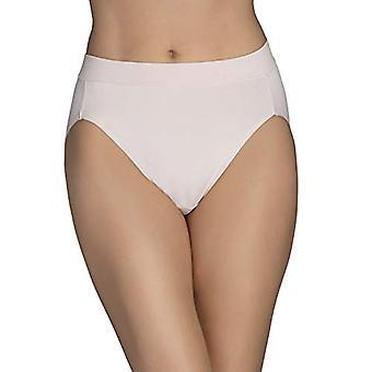 Vanity Fair Women's Beyond Comfort Hi Cut Panty 13212, Sheer Quartz, Medium/6