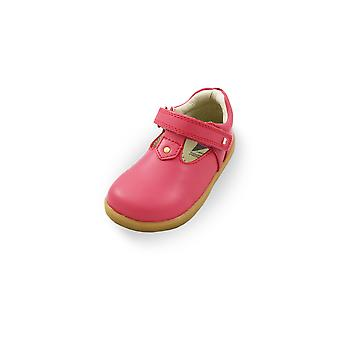 Bobux i-walk louise watermelon t-bar shoes