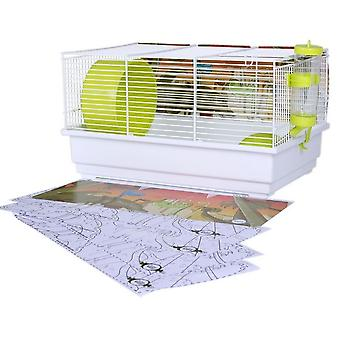 Voltrega Kit para Hamster + Paint Cut Dinosaurios (Small pets , Cages and Parks)