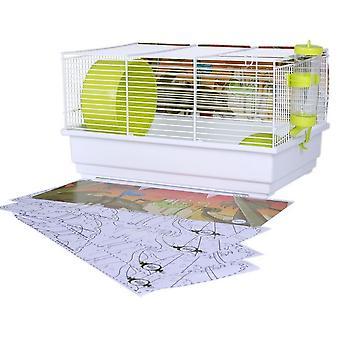 Voltrega Kit para hamsteri + maali leikata Dinosaurios (Pienet Lemmikkieläimet, häkit ja puistot)
