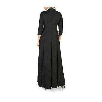 Guess - Odzież - Sukienki - W84K0F_RAD80_JBLK - Damskie - Schwartz - S