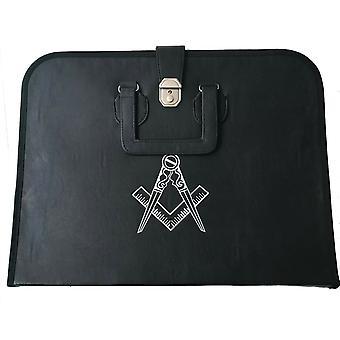 Masonic regalia  mm/wm & provincial apron and chain collar with compass