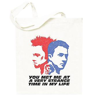 Fight Club You Met Me At A Very Strange Time In My Life Totebag