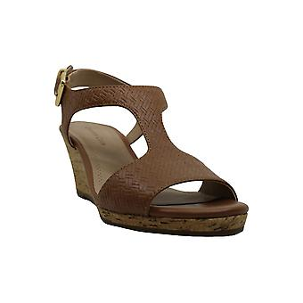 Charter Club Shelbee T-Strap Wedge Sandals, Created for Macy's Women's Shoes