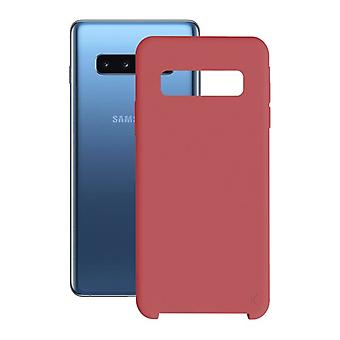 Mobiele cover Samsung Galaxy S10 KSIX Soft Red