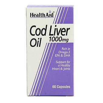 HealthAid Cod Liver Oil 1000mg Vegicaps 60 (802220)