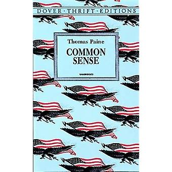 Common Sense (New edition) by Thomas Paine - 9780486296029 Book