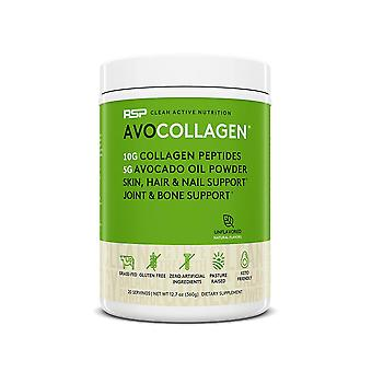 Rsp keto collagen powder, healthy hair, skin, nails, bones & joints, avocado oil (unflavored, avocollagen)