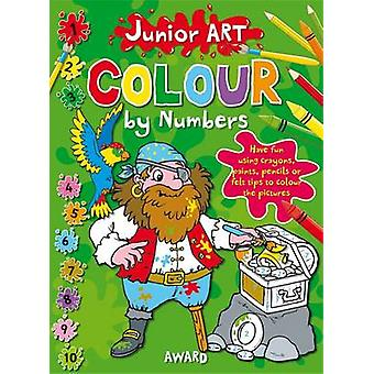 Pirate - Colour By Numbers by Anna Award - 9781841358574 Book