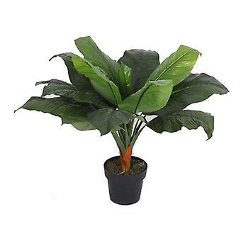 80cm Artificial Large Leaf Tropical Banana Plants - 80cm Banana