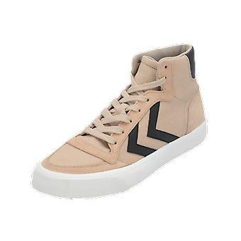 Hummel STADIL RMX HIGH Women's Sneaker Beige Gym Shoes Sport Running Shoes