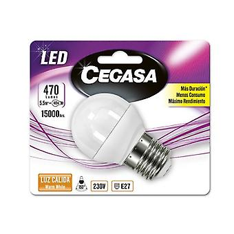 Spherical LED Light Bulb Cegasa E27 5,5 W A+