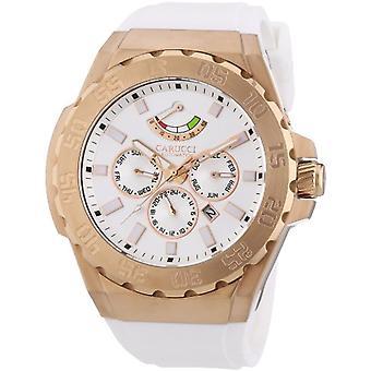Carucci Horloge Man arbitre. CA2204RG-WH