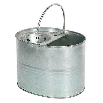 Sealey Bm08 Mop Bucket 13Ltr Galvanized