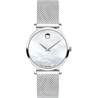 Movado - Wristwatch - Ladies - 0607350 - MUSEUM CLASSIC - Quartz Watch