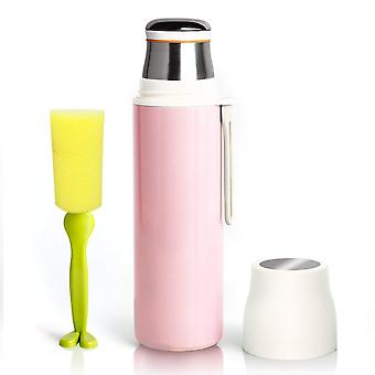 YesHom 16oz/480ml Stainless Steel Water Bottle Cup Vacuum Insulated Leak Proof Double Walled 12hrs Hot 24hrs Cold