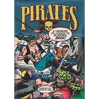 Pirates A Treasure of Comics att plundra Arrr av Wally WoodFrank FrazettaReed CrandallGraham Ingels