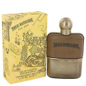 True Religion Eau De Toilette Spray By True Religion 3.4 oz Eau De Toilette Spray