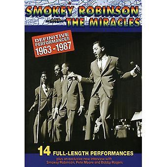 Smokey Robinson - Smokey Robinson: Definitive Collection [DVD] USA import