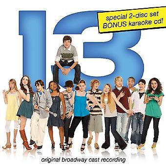 Broadway Cast - 13 [CD] USA import