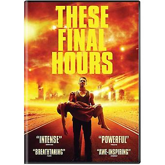 These Final Hours [DVD] USA import