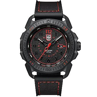 Luminox is-Sar Artic svart CARBONOX tilfellet svart gummi rem Mens Watch XL.1002 46mm