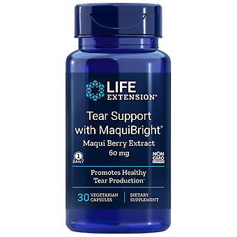 Life Extension Tear Support con MaquiBright 60 mg 30 Cápsulas Vegetales