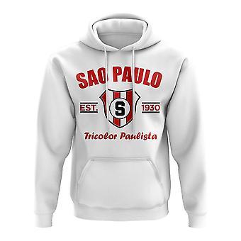 Sao Paolo Established Football Hoody (White)