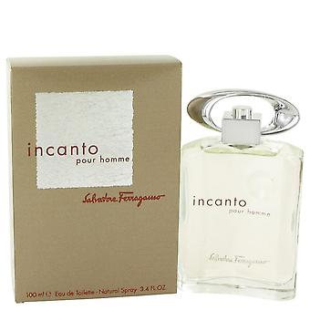 Incanto Eau De Toilette Spray By Salvatore Ferragamo 3.4 oz Eau De Toilette Spray
