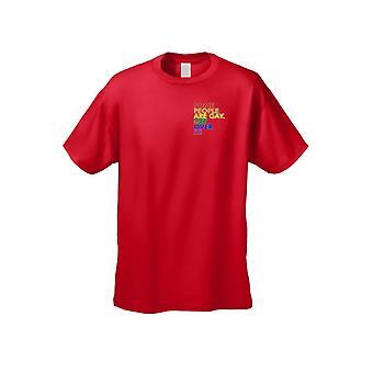 Men's Algunas personas son gay conseguir más de ella camiseta