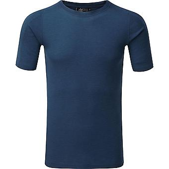 North Ridge Men's Convect-200 Merino LSZ Top Blue