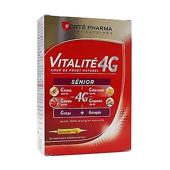 Vitality 4G Senior 20 ampoules