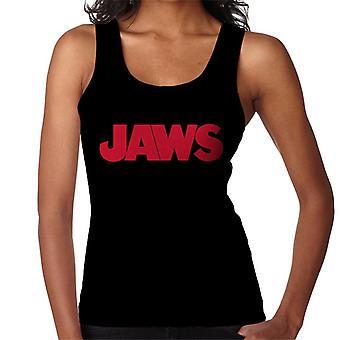 Jaws Text Logo Women's Vest