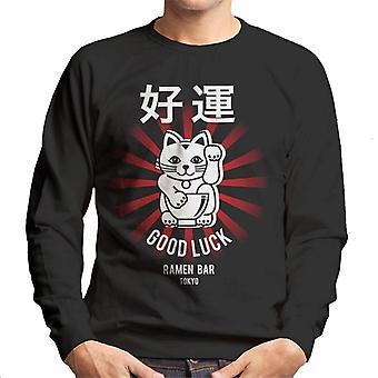 The Ramen Clothing Company Good Luck Noodle Bar Tokyo Men's Sweatshirt