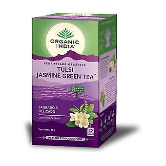Tulsi Jasmine Green Tea 25 infusion bags