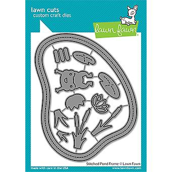 Lawn Fawn Stitched Pond Frame Dies