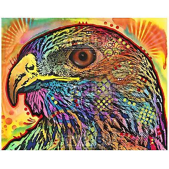 Stamplistic Hawk Eye Cling Stamp