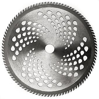 """10"""" Diameter 100-Teeth Carbide Tip Blade - Weed Eater, Brush Cutter, Lawn Trimmer Accessory"""