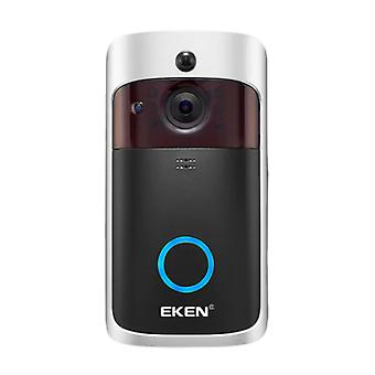 EKEN Ovikello kameralla ja WiFi:llä - Intercom Wireless Smart Home Security Alarm IR Night Vision