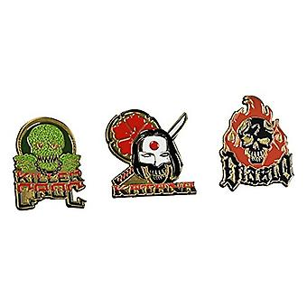Pin - Suicide Squad - Lapel Pin Set #2 New dcc-0304