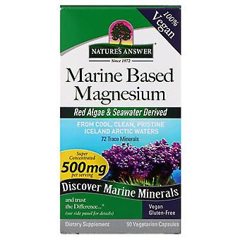 Nature's Answer, Marine Based Magnesium, 500 mg, 90 Vegetarian Capsules