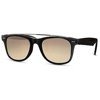 Sunglasses Unisex wayfarer kat. 2 black/brown