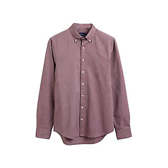 Gant Men's Long Sleeve Shirt Slim Fit