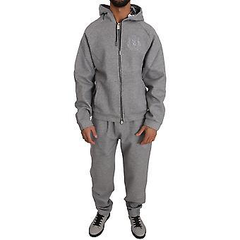 Gray Cotton Sweater Pants Tracksuit BIL1023-2
