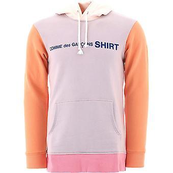 Comme Des Garçons Shirt W281181 Heren's Multicolor Katoen Sweatshirt